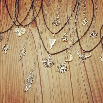 Gold Emblem Necklaces