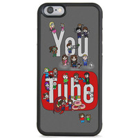 Youtubers iPhone 6 Case, Samsung Galaxy Rubber Case