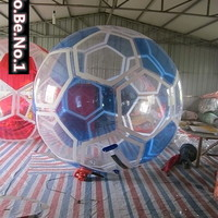 NEW CE1.8M Blue Footb Water walking ball Walk on Water Ball Inflatable Zorb ball