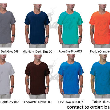 Order Custom Made Bamboo T-shirts