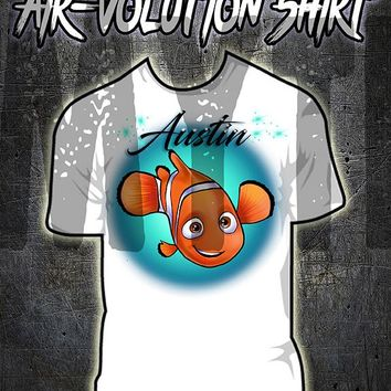 LB006 custom personalized airbrush little Nemo Tee Shirt Finding