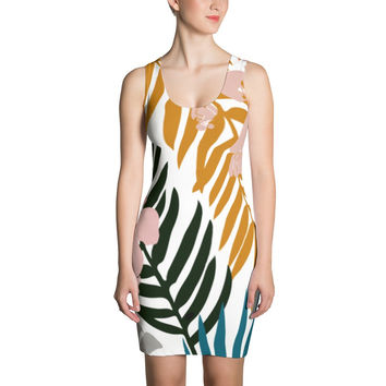 Palms And Bloom Dresses by 83 Oranges