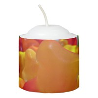 Gummy Bear Crowd Votive Candle