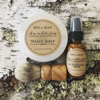 Shaving Kit | Wet Shaving Set | Shaving Gift Set | Men's Gift | Shave Soap | Aftershave | Mens Natural Skincare | Shaving Gift For Him | Kit