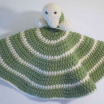 Turtle Lovey PDF Crochet Pattern INSTANT DOWNLOAD