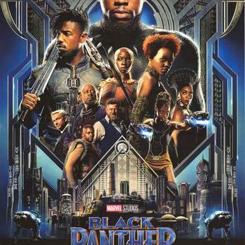 Black Panther Marvel Comics Movie Poster 24x36