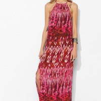 Staring At Stars High Tie-Neck Maxi Dress - Urban Outfitters