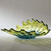 Venus Bowl-Aqua/Lime - $447.50 : Online Store for Sculptures, Statues, Tabletops & more, Emonili.com