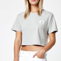 Calvin Klein Crew Neck Pocket T-Shirt at PacSun.com