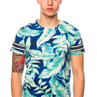 Scotch & Soda 51148 Blue Printed T-Shirt