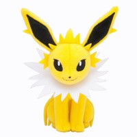 Pokémon Center Original Plush Doll Sitting Trick Pose Jolteon by BabyCentre