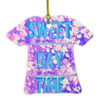 MIX MATCH SWEET DAY TIME SAUCY NIGHT LIFE CERAMIC ORNAMENT