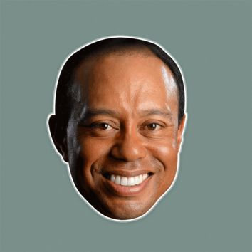 Happy Tiger Woods Mask by RapMasks