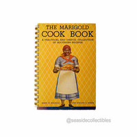 Black Americana Cookbook 1938 Marigold Cook Book A Practical and Useful Collection of Southern Recipes by Mary Baldwin & Evelyn Hinds 1stED