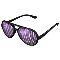 Beautiful Purple glitter sparkles Party Sunglasses