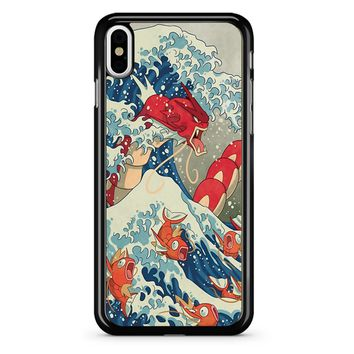 The Great Wave Off Kanto 2 iPhone X Case