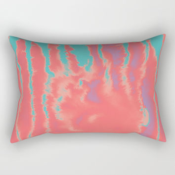 summer sultry Rectangular Pillow by duckyb