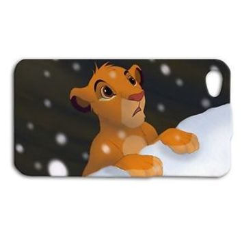 Cute Disney Lion King Case Funny Simba Phone Cover iPhone 4 4s 5 5c 5s 6 Plus +
