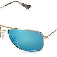 NEW Ray-Ban Sunglasses for Men and Women: RB3543-112/A1-59/Gold-Blue