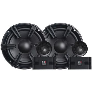 "Mb Quart Discus Series 6.5"" 90-watt Component Speaker System With 1"" Tweeters"