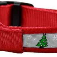 LED Dog Collar Christmas Tree Size Small