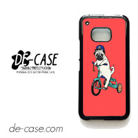 Pug Bicycle For HTC One M9 Case Phone Case Gift Present