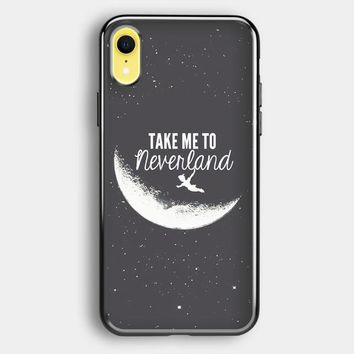 Peter Pan, Take To Me Neverland iPhone XR Case | Casefruits