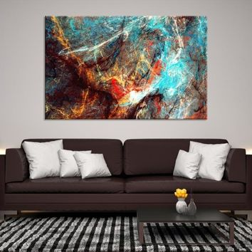 87290 - Abstract Painting Canvas Print | Abstract Wall Art Print | Modern Artwork | Large Abstract t art Print | Marble Canvas Print