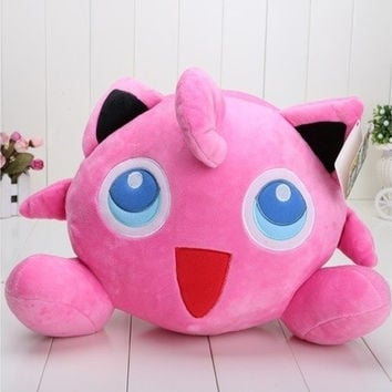 12'' Anime Pokemon Jigglypuff Plush Pillow Doll Toys Stuffed Anime Manga Gift