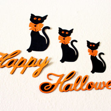 Halloween black cat, Halloween wall Hangings, Black cat art, Black cat decor, Halloween signs, Halloween decor, Halloween art, wall decor