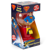 Superman 9-Inch Tall Gumball Dispenser