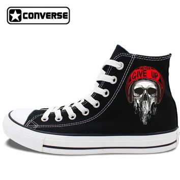 Rock Skull Painted Converse