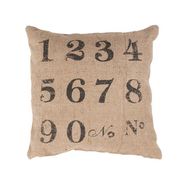 Jaipur Rugs Coastal Pattern Taupe/Black Jute Pillow RUE02