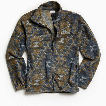 Columbia Steens Mountain Printed Fleece Jacket - Urban Outfitters