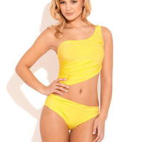 ideeli | A.CHE One-Shoulder Monokini