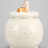 Plum & Bow Mystical Creature Cookie Jar- White One