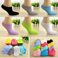 Candy Color Women Short Ankle Boat Low Cut Sport Socks Crew Casual Hot Style = 1958694148