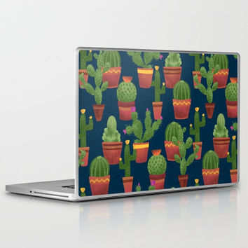 Terra Cotta Cacti Laptop & iPad Skin by Noonday Design