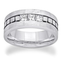14K WHITE GOLD 0.75CTW DIAMOND RING