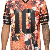10 Deep X-League Print Mesh Jersey