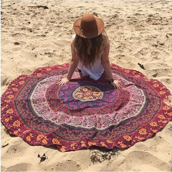Summer Stylish Bedroom Decoration Beach Geometric Print Pattern Blanket [6372853764]