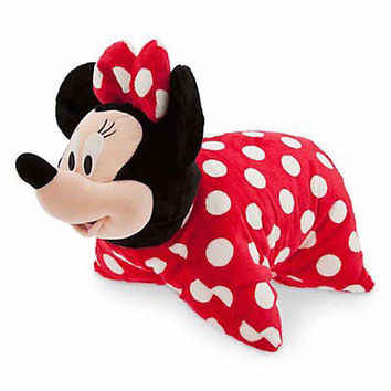 disney parks minnie reverse pillow pet plush new with tag