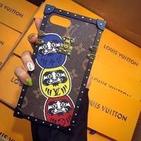 LV supreme iPhone 8 iPhone 8 plus - Stylish Cute On Sale Hot Deal Apple Matte Couple Phone Case For iphone 6 6s 6plus 6s plus iPhone 7 iPhone 7 plus