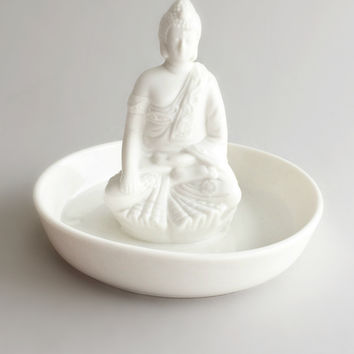 Peaceful Buddha Jewelry Tray