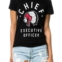 The Chief Tee in Black