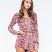 Billabong See The Sun Womens Romper Multi  In Sizes