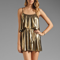 Lovers + Friends Sunkissed Dress in Liquid Gold from REVOLVEclothing.com