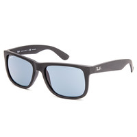 Ray-Ban Justin Sunglasses Black/Blue One Size For Men 27201918401