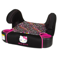 Baby Trend Hybrid No Back Booster Car Seat (Hello Kitty Pin Wheel)
