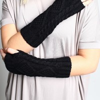 Diamond Knit Hand Warmer